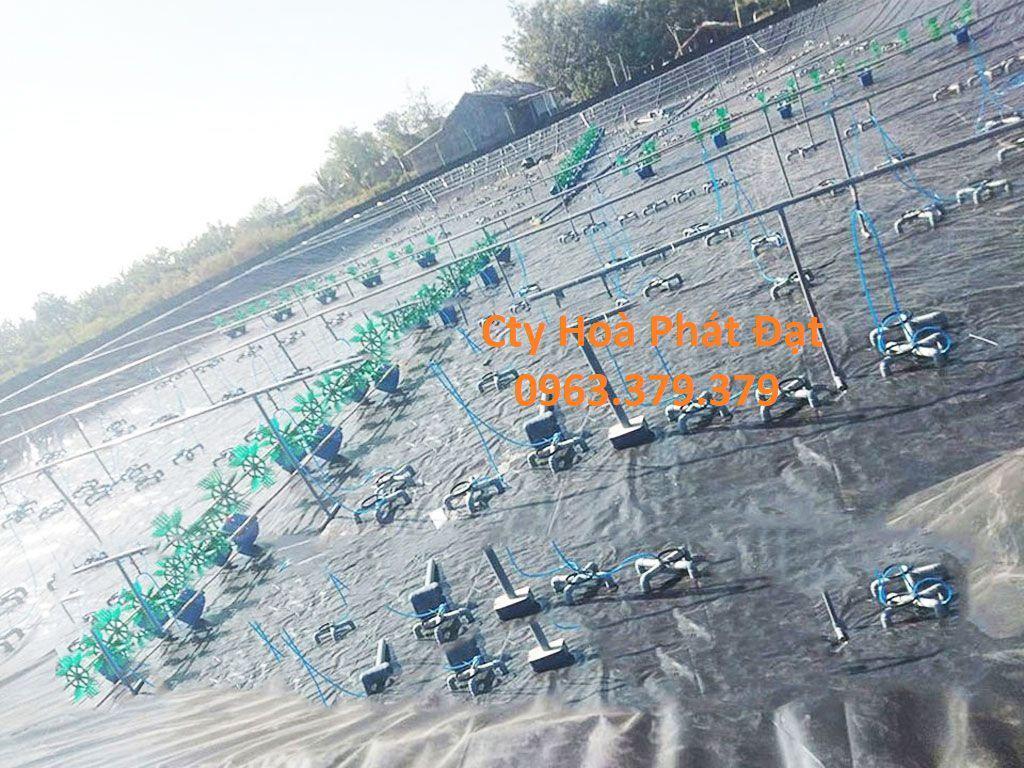Bạt nhựa HDPE, bạt nhựa lót hồ nuôi tôm cá, bạt nhựa đen 2 mặt giá rẻ