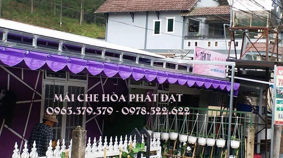 Báo giá lắp đặt mái xếp bạt kéo di động ở tại Hà Nội giá rẻ chất lượng